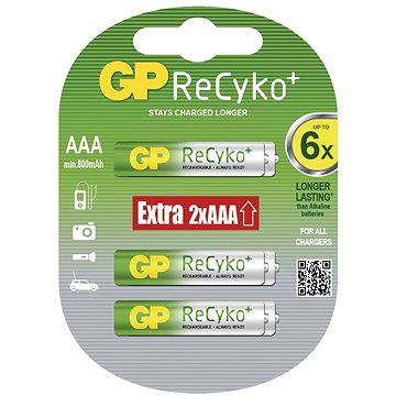 GP ReCyko HR03 (AAA) 4+2ks v blistru (GP85AAAHCB)