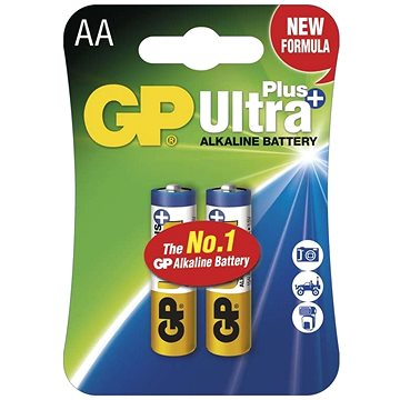 GP Ultra Plus LR6 (AA) 2ks v blistru (GP15AUP)