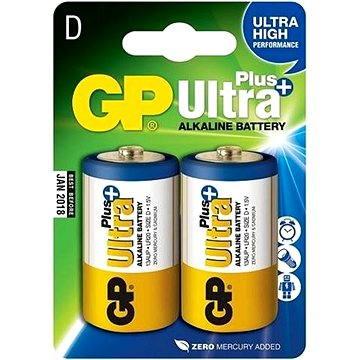 GP Ultra Plus LR20 (D) 2ks v blistru (1017412000)