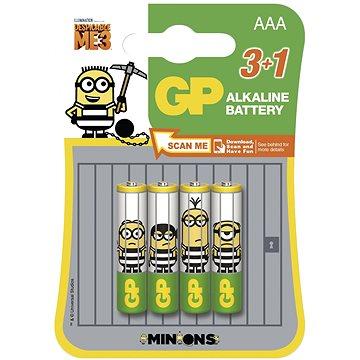 GP Minion LR03 (AAA) 3+1ks v blistru (1009411407)