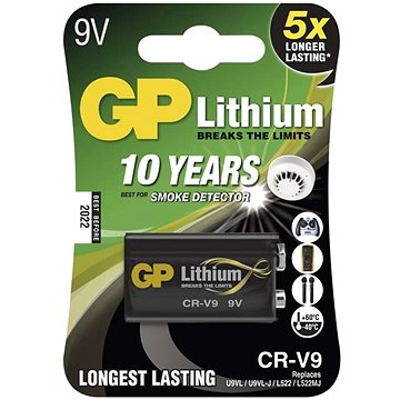 GP CR-V9 (9V) 1ks v blistru (10220009111)