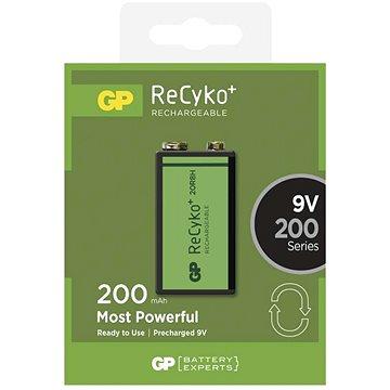 GP Recyko 9V 200mAh, Ni-MH, 1ks (1033511030)