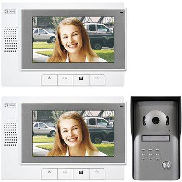 Souprava videotelefonu EMOS H1011 s přídavným monitorem H1111