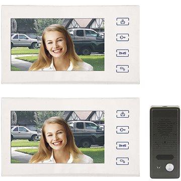 Souprava videotelefonu EMOS H1016 s přídavným monitorem H1116