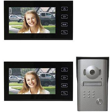 Souprava videotelefonu EMOS H1014 s přídavným monitorem H1114