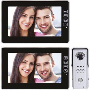 Souprava videotelefonu s pamětí EMOS H1018 s přídavným monitorem H1118