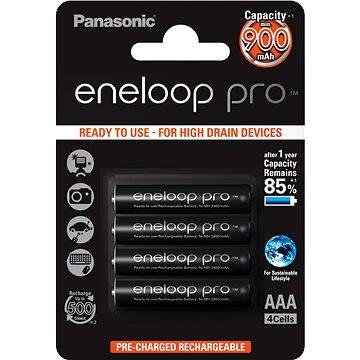 Panasonic eneloop pro AAA NiMh 900mAh 4ks (HR-4UWXB-4BP)