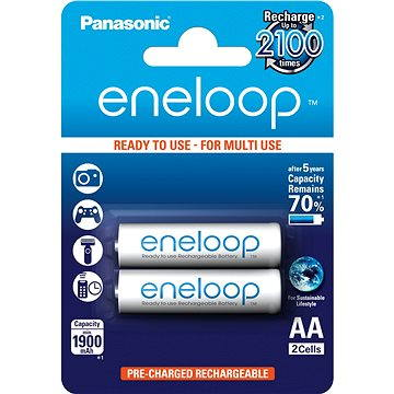 Panasonic eneloop AA 1900mAh 2ks (HR-3UTGB-2BP)