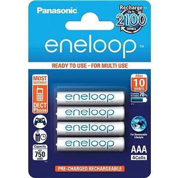 Panasonic eneloop AAA 750mAh 4ks (HR-4UTGB-4BP)