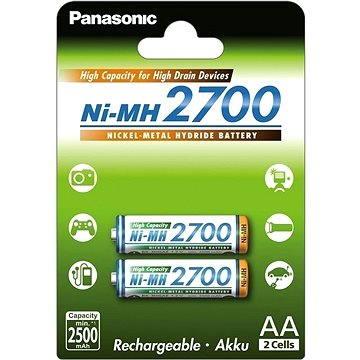 Panasonic eneloop NiMH AA 2700mAh 2ks (HR-3U-4BP (2700))