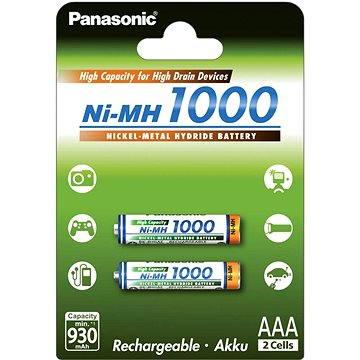 Panasonic eneloop NiMH AAA 930mAh 2ks (HR-4U-2BP (1000))