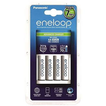 Panasonic Advanced Charger + eneloop AA 1900mAh 4ks (MQN09-E-4-3UTGB)
