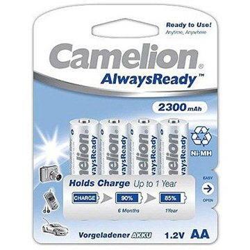 Camelion AA tužkové NiMH 2300mAh 4 ks Always Ready
