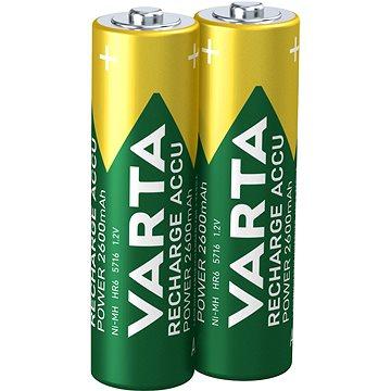 VARTA Power Accu, AA tužkové NiMH 2600mAh, 2ks (05716101402)
