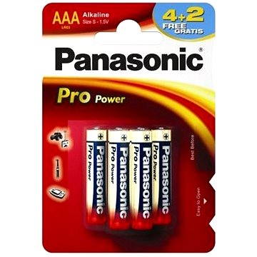 Panasonic Pro Power AAA LR03 4+2ks v blistru (LR03PPG/6BP)