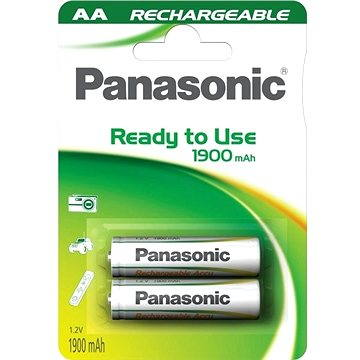 Panasonic Ready to Use AA HHR-3MVE/2BC 1900 mAh (HHR-3MVE/2BC)