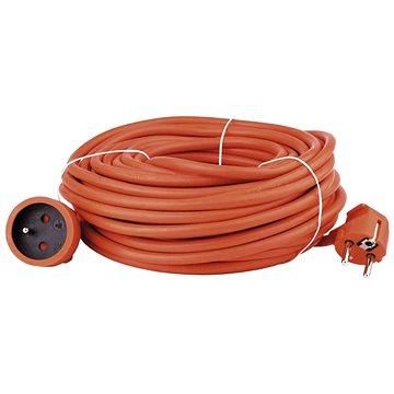 Emos Prodlužovací kabel 20m, oranžový (1901012000)