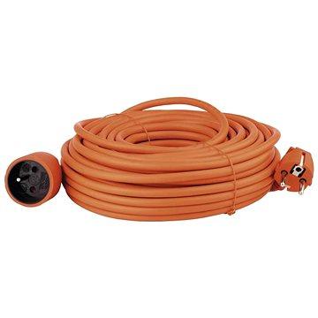 Emos Prodlužovací kabel 25m, oranžový (1901012500)