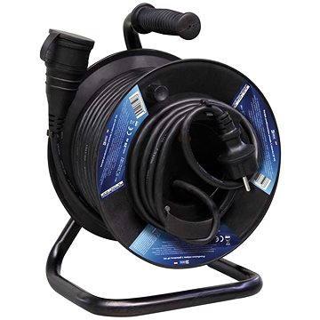 Emos Gumový prodlužovací kabel na bubnu - spojka 25m (1908212500)