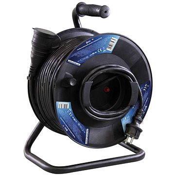 Emos Gumový prodlužovací kabel na bubnu - spojka 50m (1908215000)
