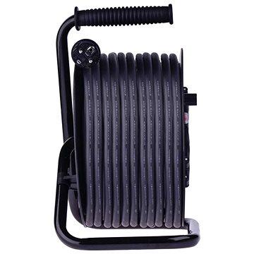 EMOS Gumový prodlužovací kabel na bubnu – 4 zásuvky, 50m, 2,5mm2 (1908545000)
