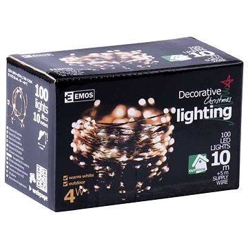 Emos 100 LED Xmas NANO WIRE (8592920018941)