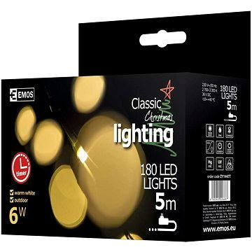 Emos 180 LED Xmas CLAS NET (8592920026687)