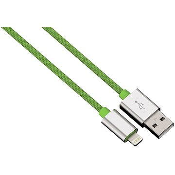 Hama Color Line USB A - Lightning, 1m, zelený (80527)