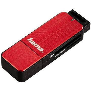 Hama USB 3.0 červená (123902)