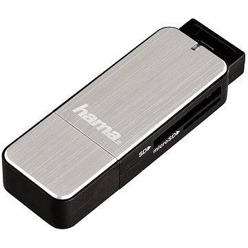 Hama USB 3.0 stříbrná (123900)
