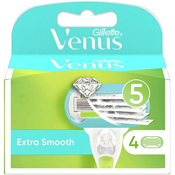 GILLETTE Venus Extra Smooth 4 ks (7702018955527)