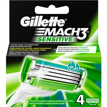 Gillette Mach3 sensitive 4ks