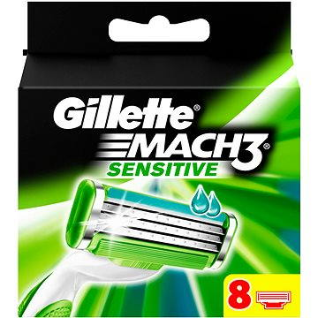 GILLETTE Mach3 Sensitive 8 ks (7702018037964)