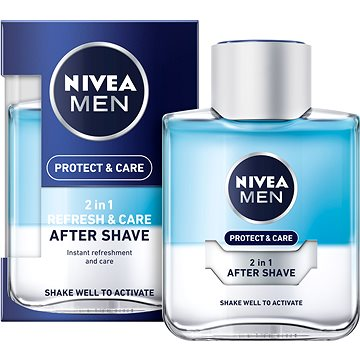 Voda po holení NIVEA Men Protect&Care 2v1 100 ml (9005800278445)