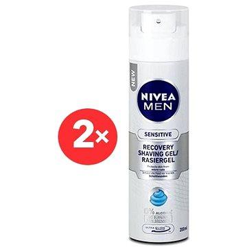 NIVEA MEN Sensitive Recovery Shaving gel 2× 200 ml