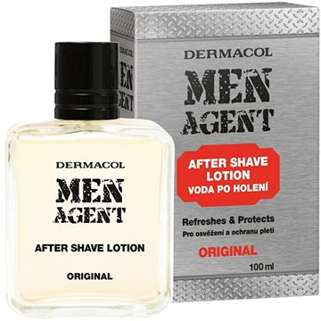 Voda po holení DERMACOL Men Agent After Shave Lotion Original 100 ml (8590031105840)