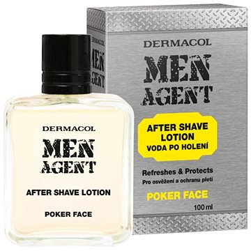 Voda po holení DERMACOL Men Agent After Shave Lotion Poker face 100 ml (8590031105864)