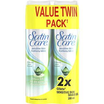 GILLETTE Satin Care Sensitive 2× 200 ml (7702018507016)