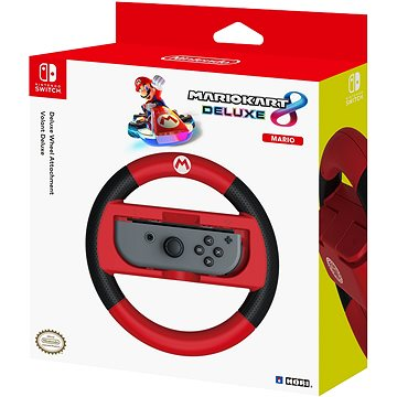 Hori Joy-Con Wheel Deluxe - Mario - Nintendo Switch (873124006520)