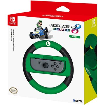 Hori Joy-Con Wheel Deluxe - Luigi - Nintendo Switch (873124006537)