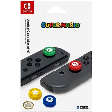 HORI Joy-Con Analog Stick Caps Super Mario - Nintendo Switch (873124006261)