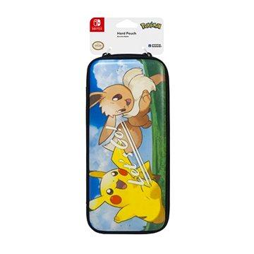 Hori Tough Pouch - Pikachu, Eevee - Nintendo Switch (873124007367)