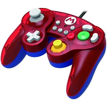 HORI GameCube Style BattlePad - Mario - Nintendo switch (873124007152)