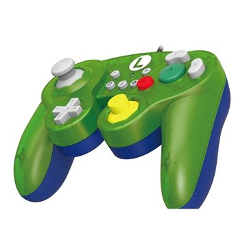 HORI GameCube Style BattlePad - Luigi - Nintendo switch (0873124007350)