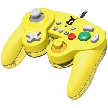 HORI GameCube Style BattlePad - Pikachu - Nintendo switch (873124007176)