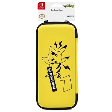 Hori Tough Pouch - Pikachu - Nintendo Switch (873124007985)