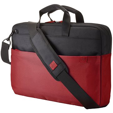"HP Duotone BriefCase Red 15.6"" (Y4T18AA#ABB)"