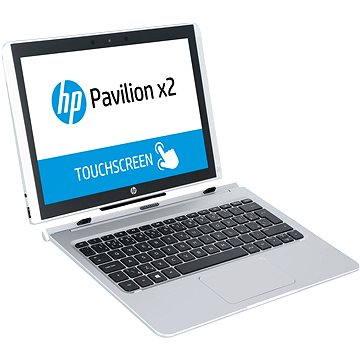 HP Pavilion x2 12-b103nc Natural Silver + dock s klávesnicí (W7R50EA#BCM)