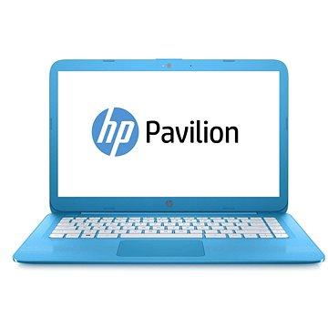 HP Stream 14-ax001nc Aqua Blue (X9W71EA#BCM) + ZDARMA Myš HP Wireless Mouse Z3700 Hearts Digitální předplatné Týden - roční