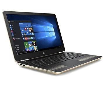 HP Pavilion 15-aw007nc Modern Gold (E9N39EA#BCM) + ZDARMA Poukaz v hodnotě 500 Kč (elektronický) na příslušenství k notebookům. Poukaz má platnost do 30.5.2017.